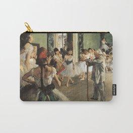 The Dance Class, Edgar Degas, 1874 Carry-All Pouch