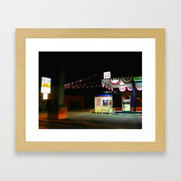 Red Hook 1 Framed Art Print