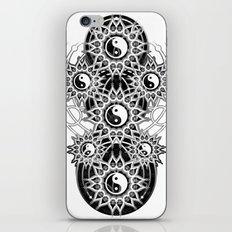 Seven Yin Yang Symmetry Balance Energy iPhone Skin
