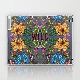Bohemian Floral Laptop & iPad Skin