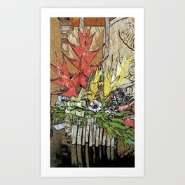 Tropical Display Art Print