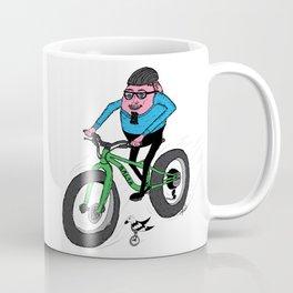 Hardboiled Greg rides! Coffee Mug
