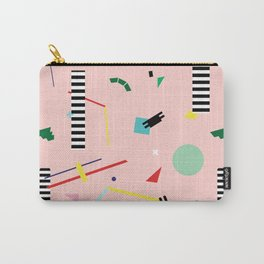 Memphis Geometry Lesson Carry-All Pouch