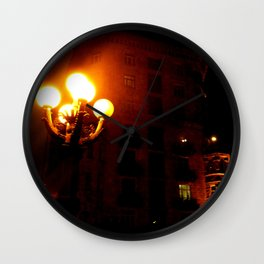 Night Crest 3 Wall Clock