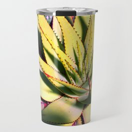 Cactus in neon colour pop photograhy no.9 Travel Mug