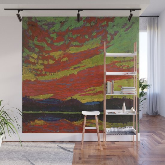 Tom Thomson Sunset Canadian Landscape Artist by enshape