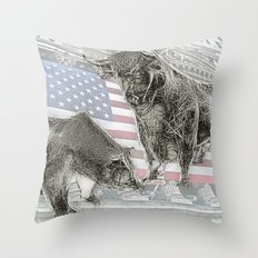 Have a NYSE day! Throw Pillow