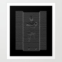 joy division Art Prints featuring Joy Division: Going Solo by The Cracked Dispensary