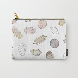 Watercolor Crystals | Healing Crystals Carry-All Pouch