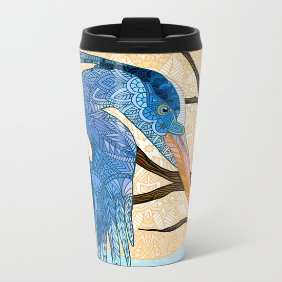 Egret Sun Metal Travel Mug
