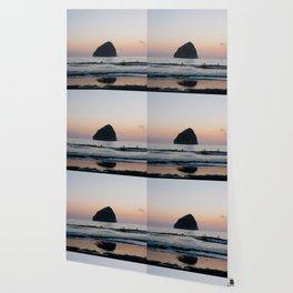 Sunset Surfers - Oregon Coast Wallpaper