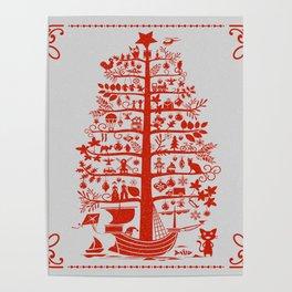 Christmas Tree Ship Poster