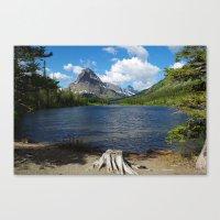 montana Canvas Prints featuring Montana by Claudio Del Luongo