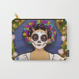 Day of the Dead Girl  Carry-All Pouch