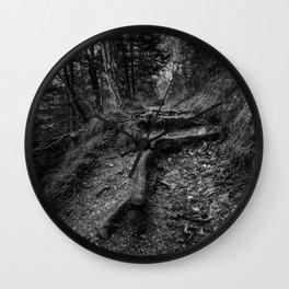 The trail Wall Clock