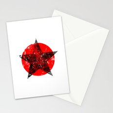 Circle and star Stationery Cards