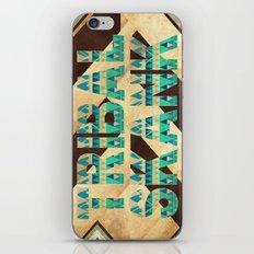 TRIBAL SKANK. iPhone & iPod Skin