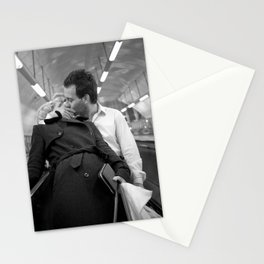 Love on the underground, London Stationery Cards