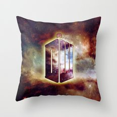 Doctor Who VII Throw Pillow