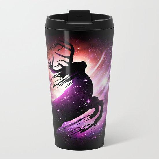 Black Hole Escape Metal Travel Mug