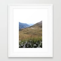 new zealand Framed Art Prints featuring New Zealand by Fred Postles