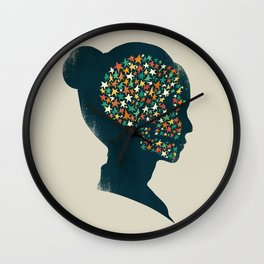 We are made of stardust Wall Clock