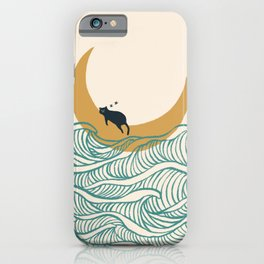 Good Night Meow 1 iPhone Case