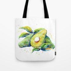 Avocados - Watercolor Tote Bag