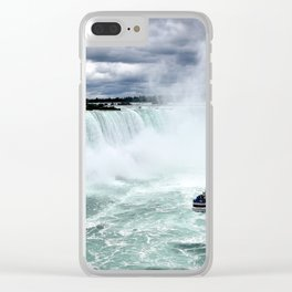 Niagara Falls Whirlpool Clear iPhone Case