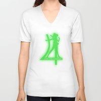 sailor jupiter V-neck T-shirts featuring Sailor Jupiter by trekvix