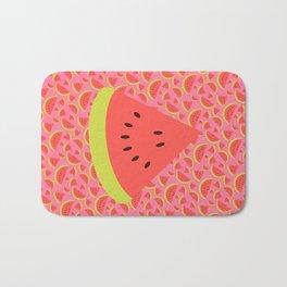 Spring watermelon Bath Mat