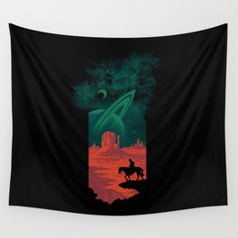 Final Frontiersman Wall Tapestry