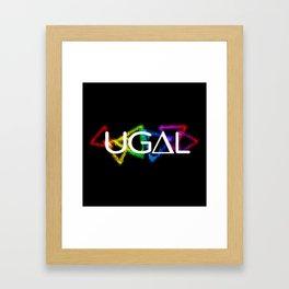 UG∆L Framed Art Print