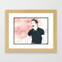 Blaine Warbler Framed Art Print