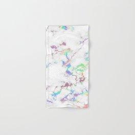 Holo Rainbow Unicorn Marble Hand & Bath Towel