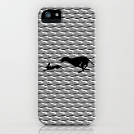 Death Inspires Me Like a Dog Inspires a Rabbit iPhone Case