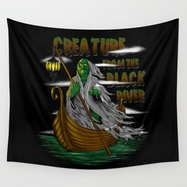 Pay the Gill-Man Wall Tapestry