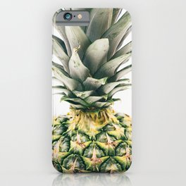 Pineapple Close-Up iPhone Case
