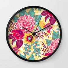 Bloomin' Beauties - Sunshine Wall Clock