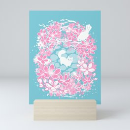 Spring Greeting Mini Art Print
