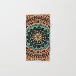 Sunset Desert Mandala Hand & Bath Towel