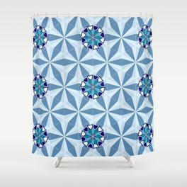 Persian Tile 01 Shower Curtain