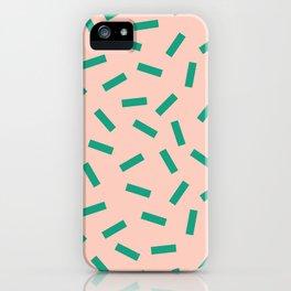 Spring Macaroni Pattern iPhone Case