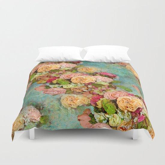 ROSES SO ROMANTIC Duvet Cover