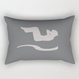 Workout Yoga Gym Star Rectangular Pillow