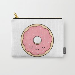 Donut - Pink Sprinkles Carry-All Pouch