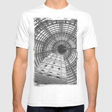 To The Point MEDIUM White Mens Fitted Tee