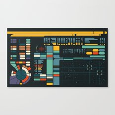 Control Interface Canvas Print