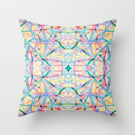 Sublime Summer Throw Pillow