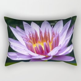 Nymphaea 'Rhonda Kay' II Rectangular Pillow
